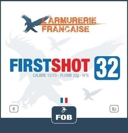 Cartouche chasse First Shot 32